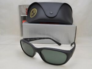 bb82f6d23cd129 Ray Ban DADDY-O (RB2016-W2578 59) Matte Black with Green Lens