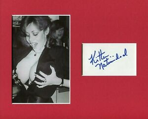 Kitten-Natividad-Ultra-Vixens-Russ-Meyer-Actress-Signed-Autograph-Photo-Display