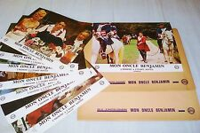 jacques brel MON ONCLE BENJAMIN ! jeu 18 photos cinema  lobby card 1969