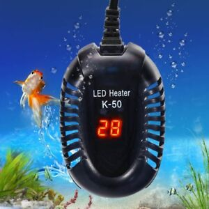 Mini-Aquarium-Fish-Tank-LED-Digital-Heater-Submersible-Adjustable-Thermostat