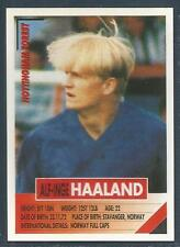 PANINI SUPERPLAYERS 1996 #210-NOTTINGHAM FOREST & NORWAY-ALF-INGE HAALAND