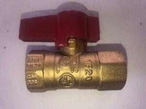 3//8 Female NPT Brass Ball Lever Shut Off Valve Water//Air//Pneumatic//Fluid 600WOG Water Oil Gas