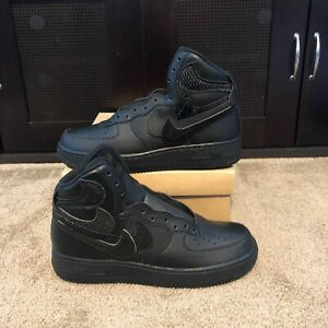 pretty nice 4e35b d26a7 Image is loading John-Geiger-Air-Force-One-Black-Misplaced-Checks-