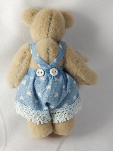 "World Of Miniature Bears Dollhouse Miniature 2.5/"" #601 It/'s a Boy Closing"