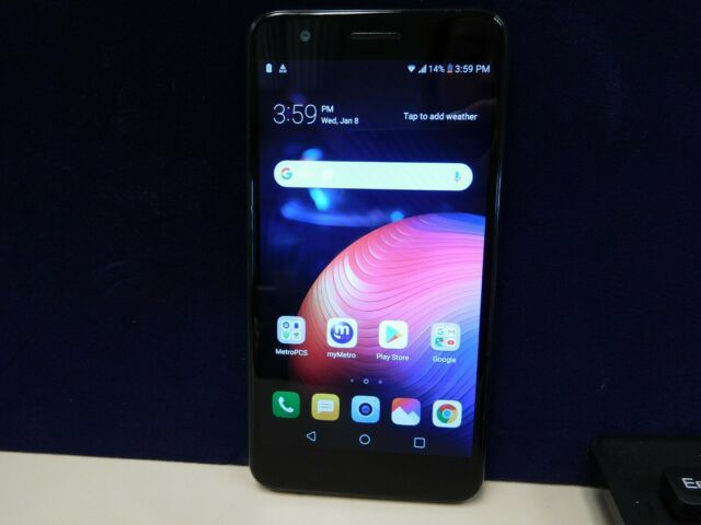 Lg K30 Metro Pcs Lm X410mk Black Cell Phone Broken As Is B0325 For Sale Online Ebay