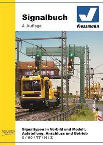 Viessmann 5299 Signalbuch #Neu in OVP#
