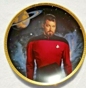 STAR-TREK-NUMBERED-2-PLATE-COLLECTION-LIMITED-28-FIRING-DAYS-HAMILTON-COLLECTION