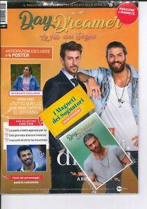 DAY DREAMER daydreamer Rivista 1-2021 Ali del Sogno Can Yaman + Magneti + Poster