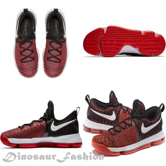 1f71947f2f8 Nike Zoom KD 9 GS IX Kd9 Youth Basketball Shoes University Red Black ...