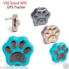 Smart WiFi Pet GPS Tracker Remote Wireless Finder Dog Cat Collar Locator SCA