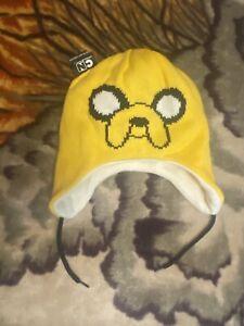 Adventure Time Finn & Jake Reversible Beanie Cap Laplander Cartoon Network