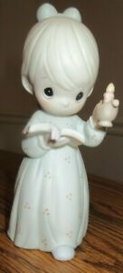 """Precious Moments """"Once Upon A Holy Night""""  523836  Plant Symbol"""
