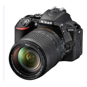 "Nikon D5500 18-140mm 24.2mp 3.2"" DSLR Digital Camera Brand New Jeptall D10"