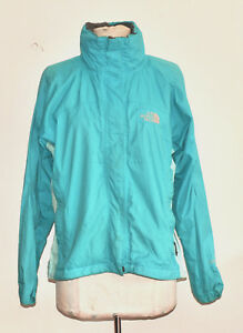 the north face hyvent light weight women s hiking jacket small green rh ebay co uk