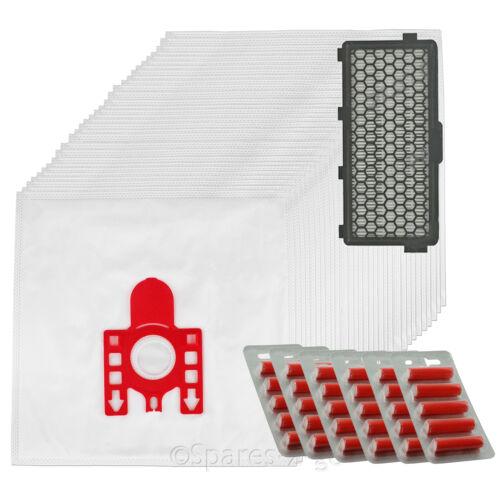 30 x MIELE FJM Sacchetti Hoover C1 C2 COMPACT COMPLETO Aspirapolvere HEPA Filtro sf-aa50