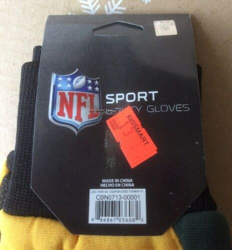 Green Bay Packers Gloves Adult Embroidered 2-Tone Utility Gloves Style #2