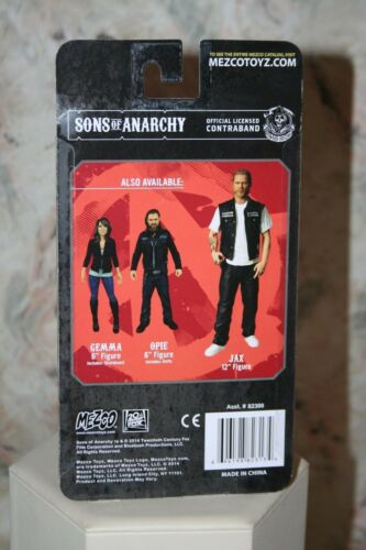 "SONS of ANARCHY GEMMA TELLER ACTION FIGURE VARIANT BLOODY 6/"" TALL NEW MEZCO 2014"