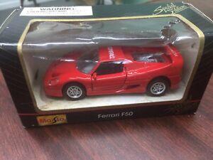Maisto-Ferrari-F50-Edicion-Especial-1-18-Compaq-Computer-Red-Diecast-Car