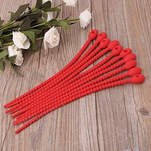 multi offre des prix JR Cravate Rouge Pour Snacks congélateur Sacs etc voir SP Royaume-Uni vendeur