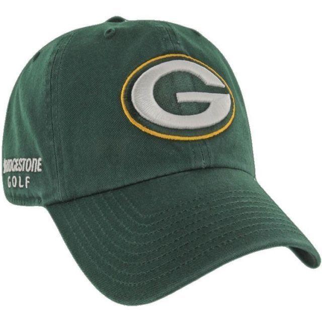 a38523b6 Bridgestone 9NFLGB NFL Golf Hats Green Bay Packers