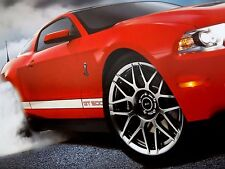 Shelby Mustang GT500 550 HP - No Antidote Ford Dealership Showroom Poster GT