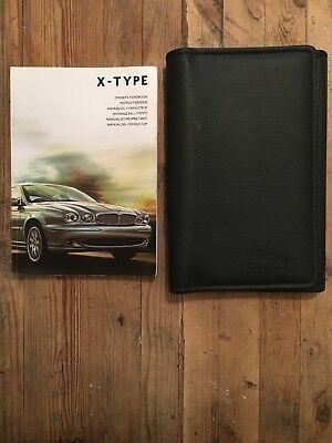 06-09 Jaguar X Type Proprietari Manuale Manuale E Portafoglio- Sapore Fragrante (In)