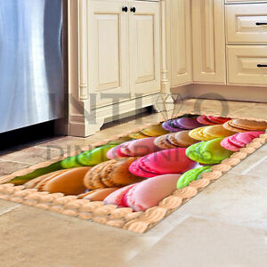 Tappeto passatoia cucina macarons colorati gommato antiscivolo made in italy ebay - Passatoia cucina antiscivolo ...