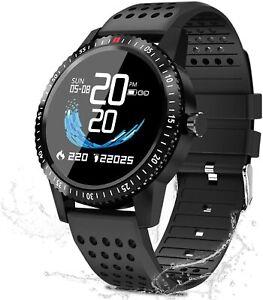 Smartwatch-Gesundheit-und-Fitness-Tracker-T1-Aktivitaetstracker-Sport-Monitor-iOS