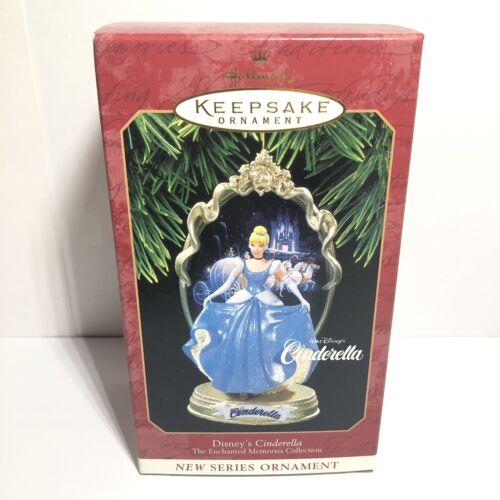 Vintage Cinderella Princess Ornament Hallmark Disney/'s Cinderella 1997 NEW