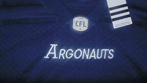 Toronto-Argonauts-CFL-Adidas-Jersey-New-Womens-Size-XLarge