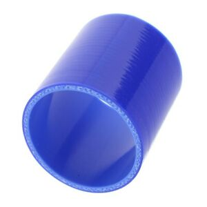 63mm Blue Silicone Vacuum Hose Straight Turbo Intake Racing Line Pipe Hose