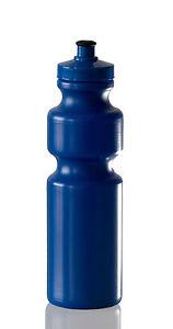 750ml-Sports-Drink-Bottle-amp-Lids-Plastic-Various-Colours-available