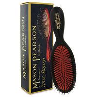 Mason Pearson B4 Pocket Size Boar Bristle Hairbrush – Dark Ruby