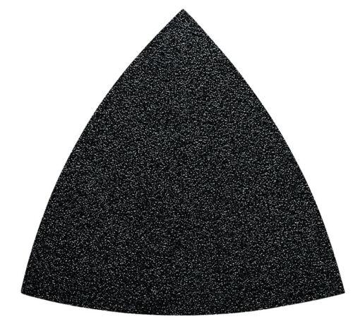 50x FEIN Schleifblätter K40 ungelocht für Multimaster Dreieck-Schleifblatt