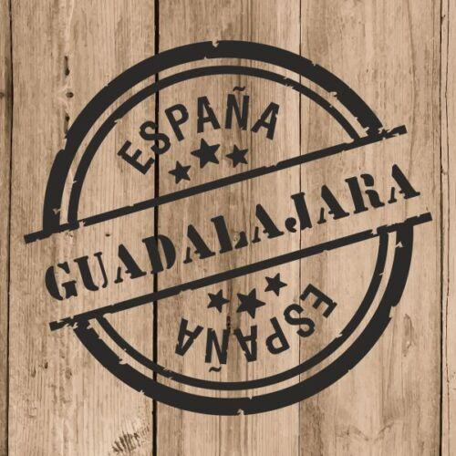 """Guadalajara Sticker Vinyl 10 cm 4/"""" Decal Stamp Guadalajara Spain Car Laptop"""