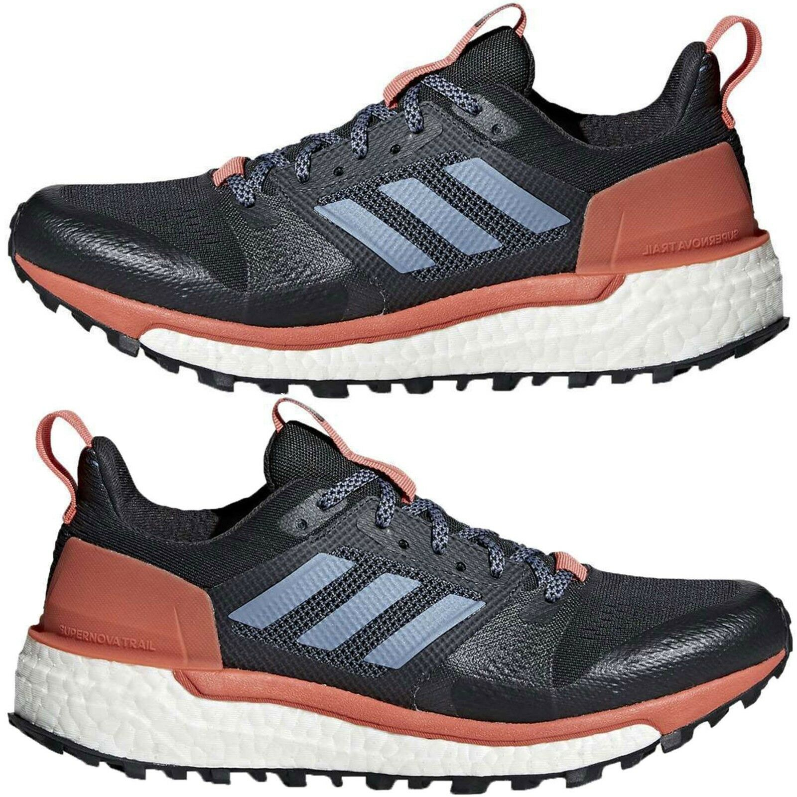 Adidas Femme Athletic Chaussures Supernova Trail Running Lace Up Sneakers Authentic