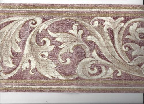 Papier Peint Frontière Architectural Moulage Scrolls Nouveau Arrivée Classique Victorien