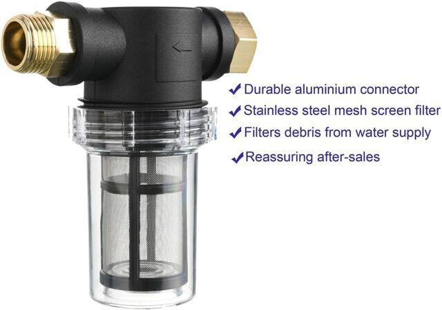 Garden Hose Filter For Pressure Washer Inlet Water Inline Filter For Sediment For Sale Online