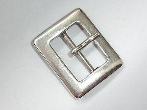 e3b422d30ae6b9 Gürtelschnalle Schließe Schnalle Verschluss 2,1 cm silber NEUWARE rostfrei  #802#