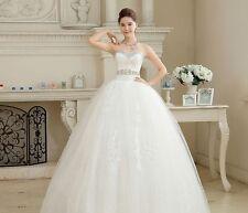 white princess fashionable lace wedding dress romantic tulle