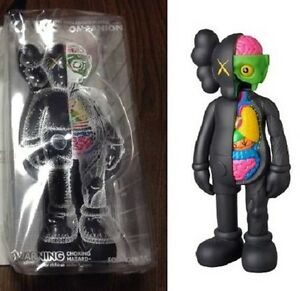 d0cf7cad0b73 Action Figures Worldwide SHIPPING Kaws Companion Flayed Open Edition Vinyl  Figure Black