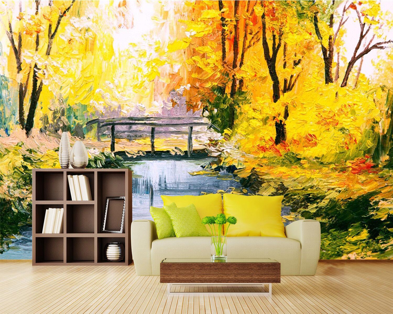 3D Herbstliche Wälder 68 Tapete Tapeten Mauer Foto Familie Tapete Wandgemälde DE