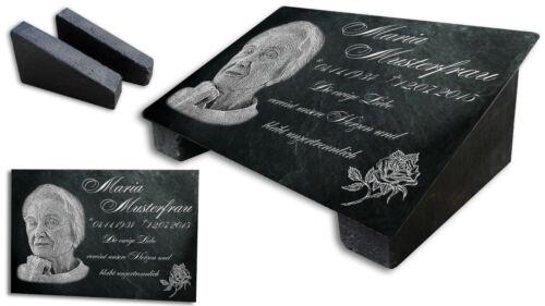 LK2 30x20cm Grabstein Gedenktafel Grabplatte Tiergrabstein Gedenkplatte Motiv