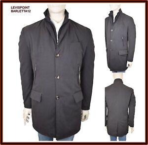 great fit c8256 7f994 Dettagli su Giubbotto da uomo Invernale slim parka giaccone cappotto lungo  elegante M 46 48