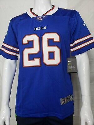Buffalo Bills #40 Devin Singletary Draft Game Jersey - White