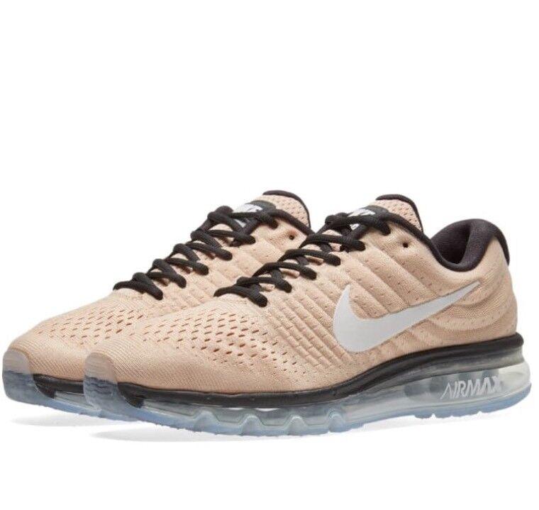 Nike AIR MAX 2017 849559 -200 Homme Chaussures De Course bio beige UK 8.5 EU 43 Free p&p-
