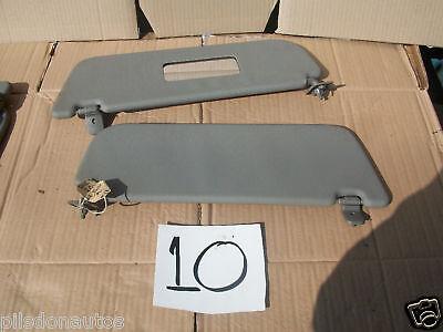 Nissan Micra k11 mk2 1993-2002 pair left right sun visors grey