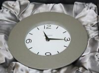 Movado Desk/mantle Clock Null Arch Type Silver tsi-102-m White Face