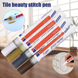 Tile Grout Coating Marker Home Wall Floor Tiles Gaps Professional Repair Pen Hot Ebay