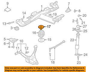GM OEM Rear Suspension-Spring Insulator 25703339 | eBay